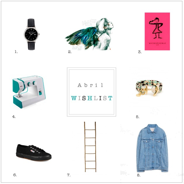 Wishlist Abril